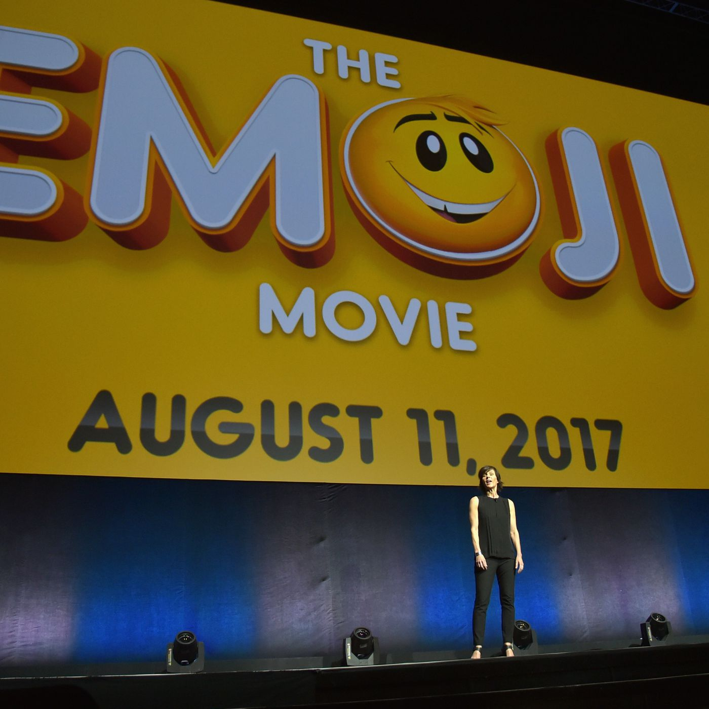 Sony S Emoji Movie Is Going To Take Place Entirely Inside A Smartphone The Verge