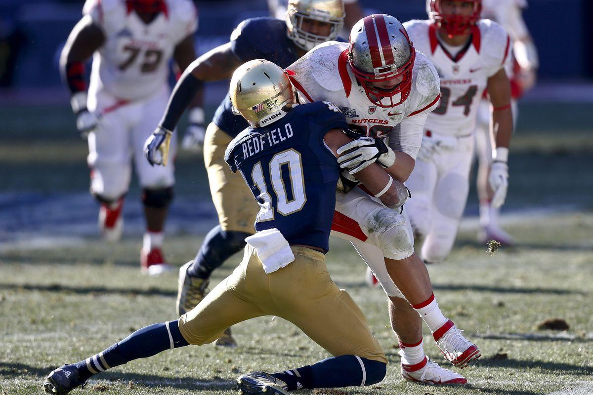 New Era Pinstripe Bowl - Rutgers v Notre Dame