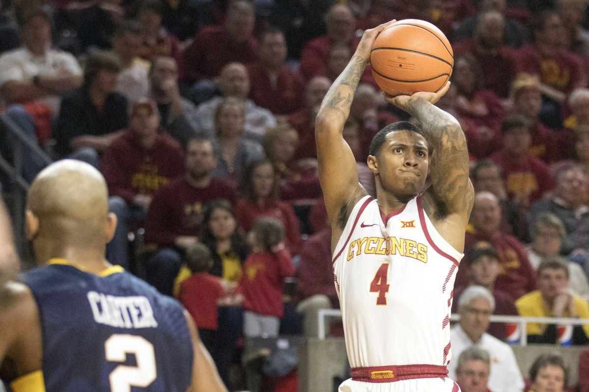 NCAA Basketball: West Virginia at Iowa State