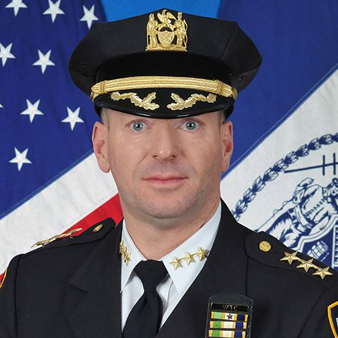 NYPD Chief of Crime Control Strategies Michael Lipetri