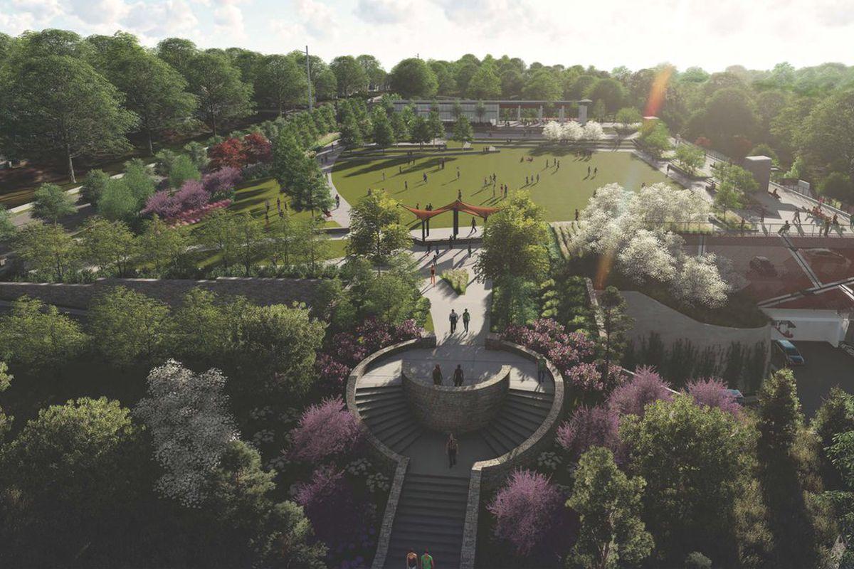 City of Atlanta unveils gorgeous renderings of Grant Park Gateway
