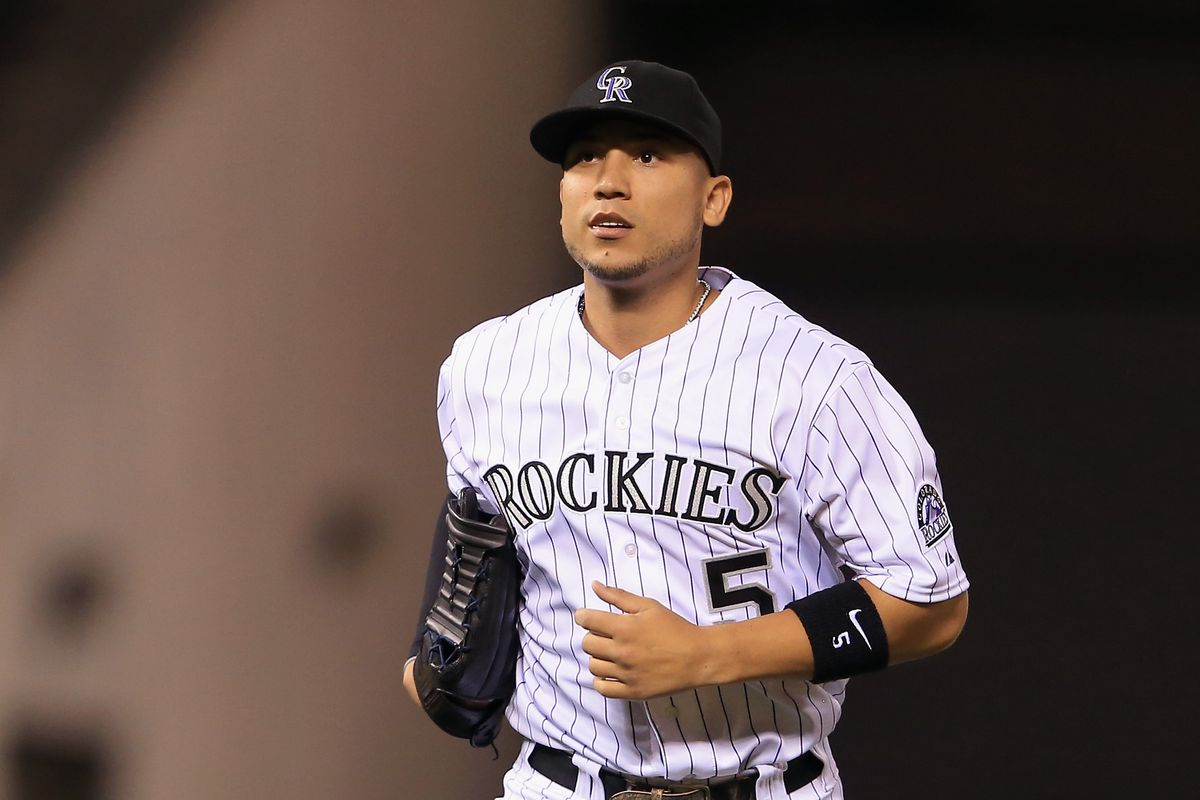 The Rockies may have lost, but at least we got to see CarGo out there for an inning.