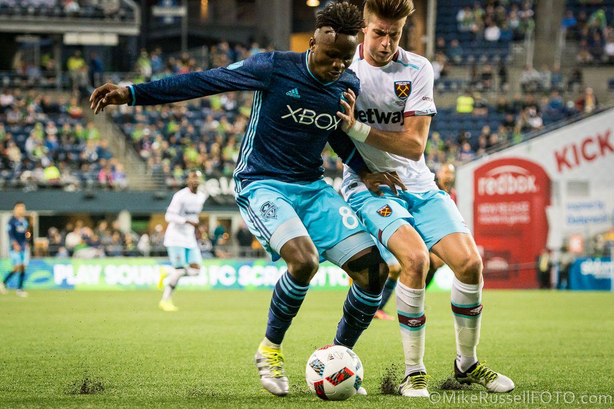 Seattle Sounders vs. West Ham United: Photos