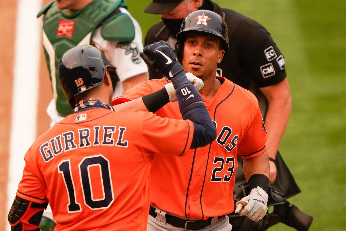 MLB: Game One-Oakland Athletics at Houston Astros
