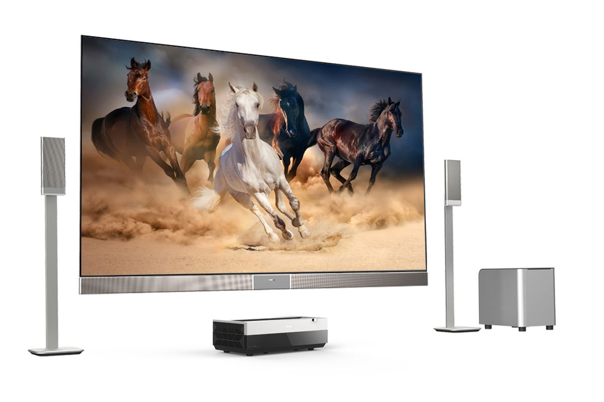 Hisense continues its US push with a 100-inch Laser TV - The