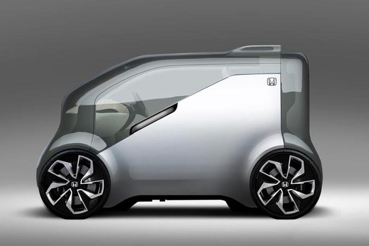 Honda Has Teased The First Image Of What Looks To Be An Ambitious New Concept Car Experimental Vehicle Dubbed Neuv