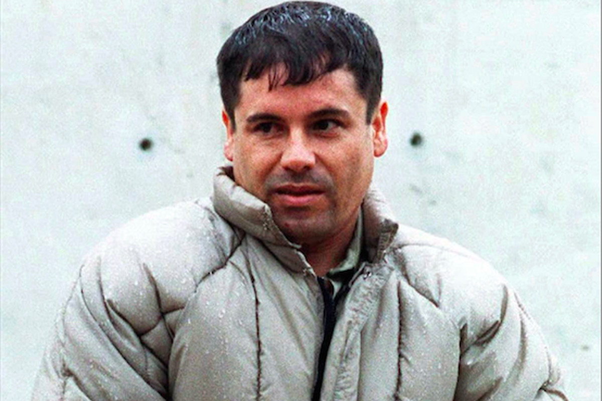 """This 1993 photo shows Joaquín """"El Chapo"""" Guzmán, the notorious leader of the Sinaloa drug trafficking cartel, who escaped from prison Saturday night."""