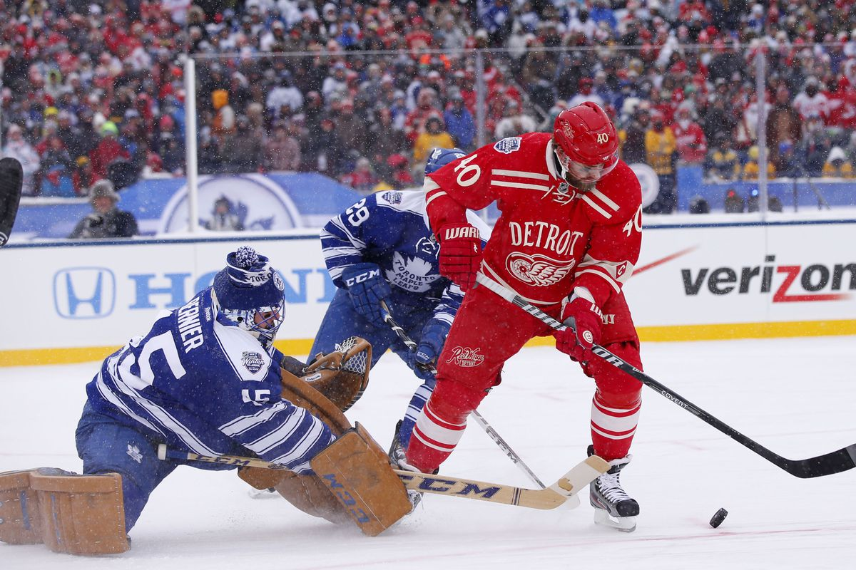 Winter Classic Game Recap Leafs 3 At Red Wings 2 So Winging It