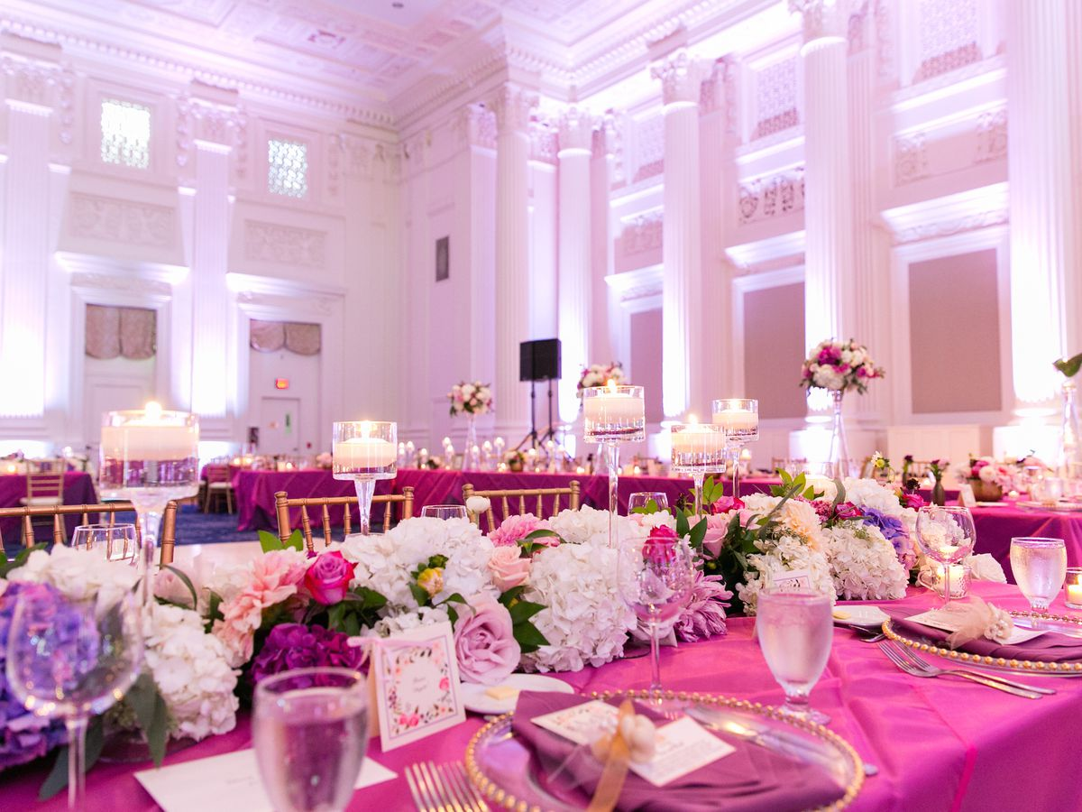 One Of The Downtown Ballrooms Served By Jake S Catering