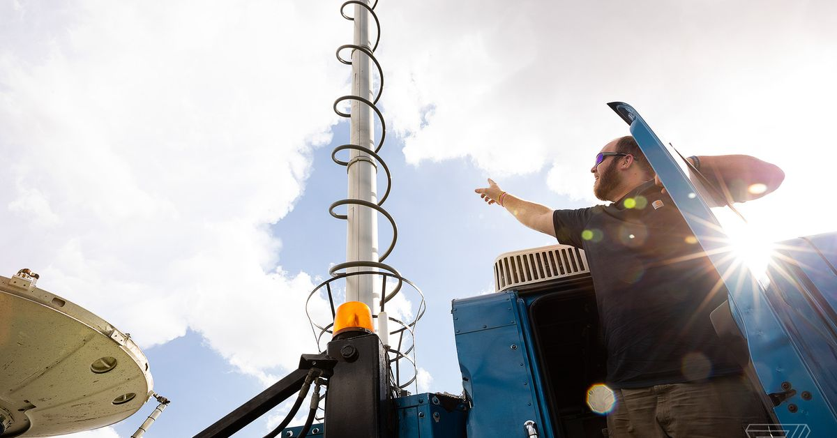 Storm chasers are searching the clouds for the key to climate change
