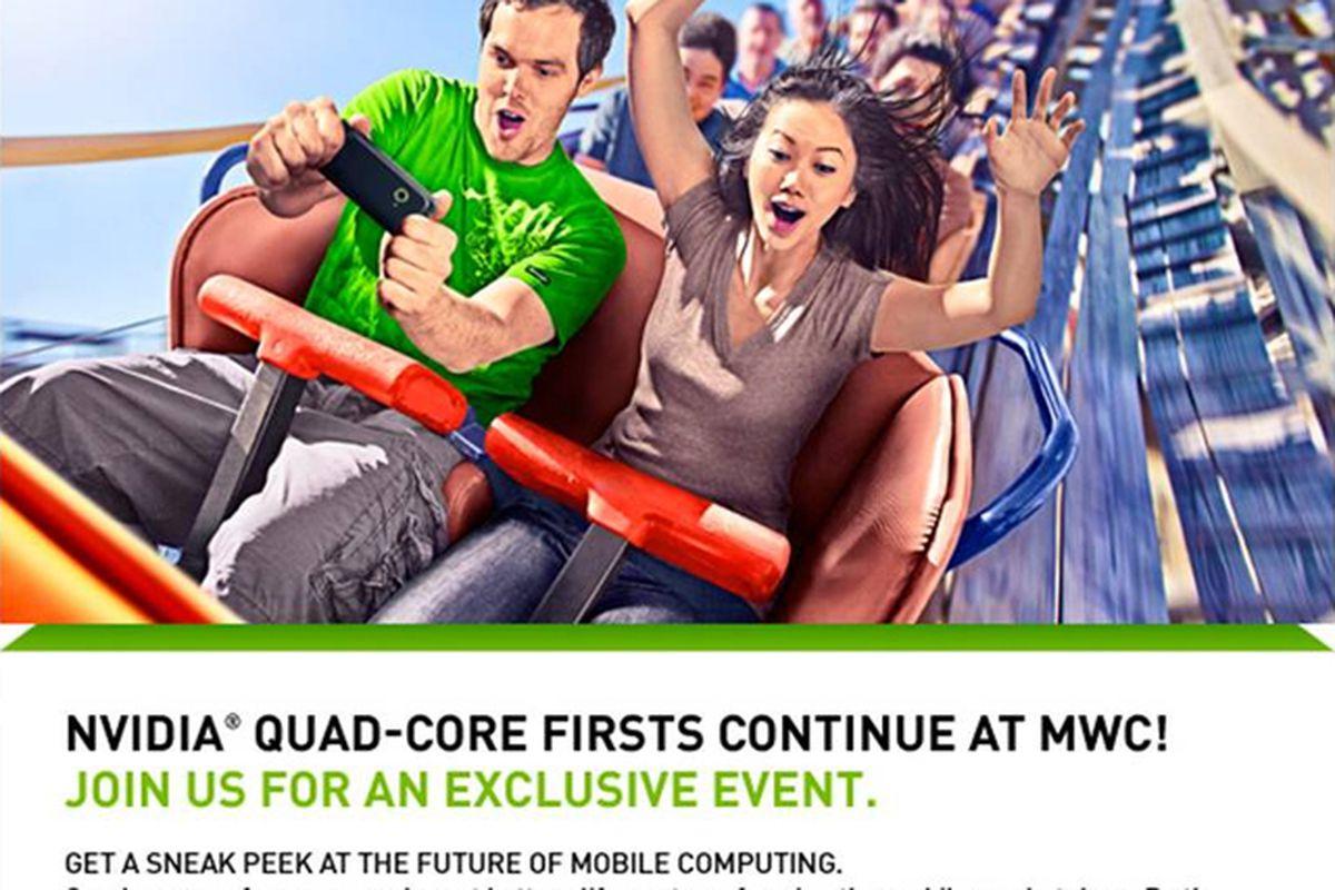 Nvidia mobile world congress