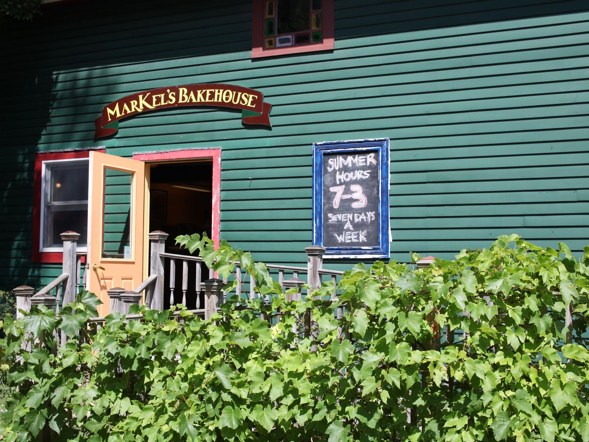 Markel S Bakehouse Is Castine Pastry Destination Formerly Known As Bah Open For Breakfast And Lunch The Porch Attracts Locals Visitors