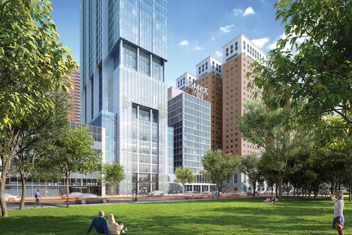 Chicago S 56 Story Essex On The Park Tower Granted Full