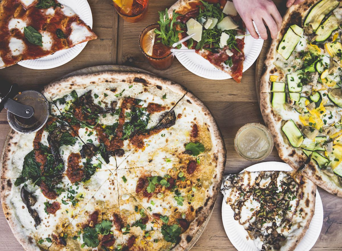 Pizza at Homeslice Pizza, which will open a new London restaurant in St. Christopher's Place