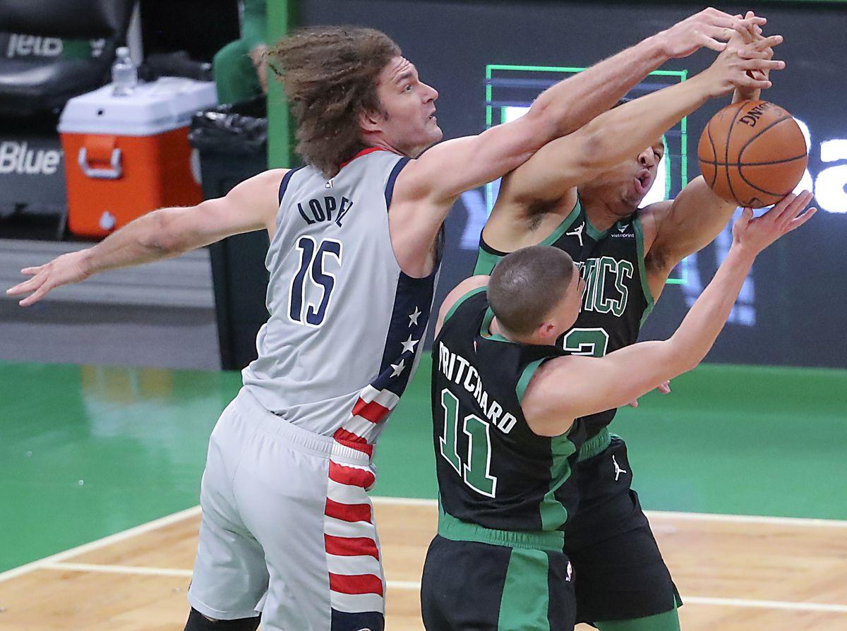 Washington Wizards Vs Boston Celtics At TD Garden