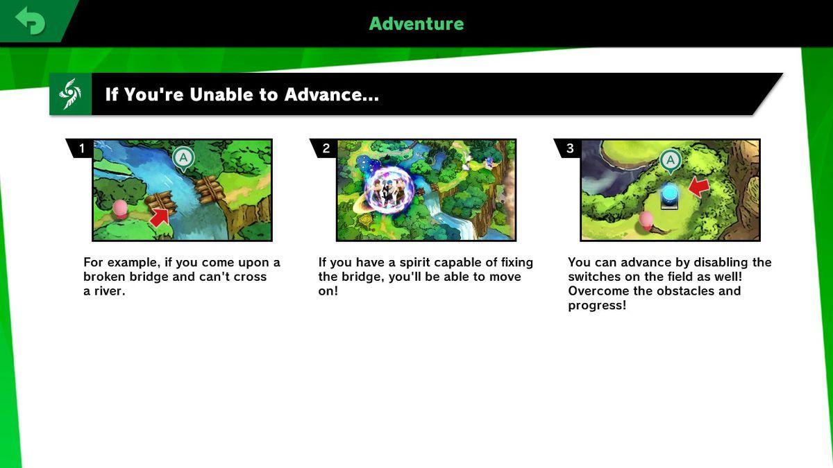 ADVANCING THROUGH WORLD OF LIGHT Another Tutorial From The Game Sora Ltd Bandai Namco Studios Nintendo Via Polygon