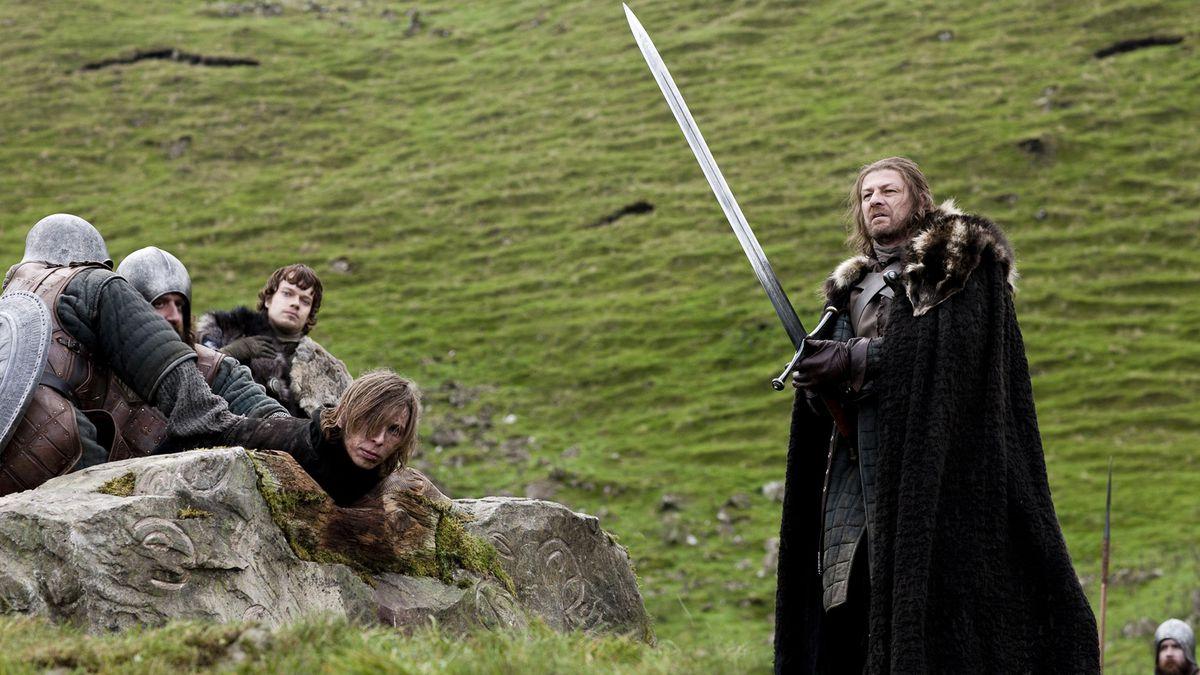 Ned Stark execution season 1 episode 1 game of thrones