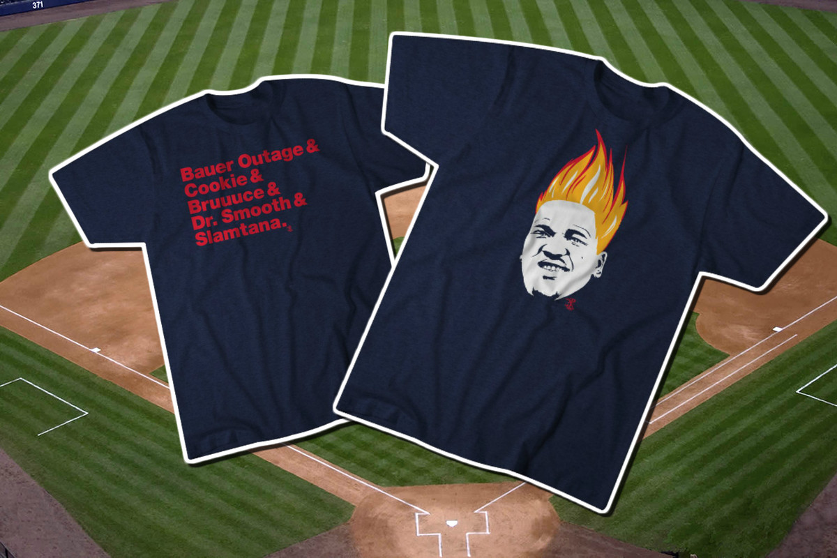 hot sale online ab562 107d0 Two new Indians t-shirts just in time for the playoff push ...
