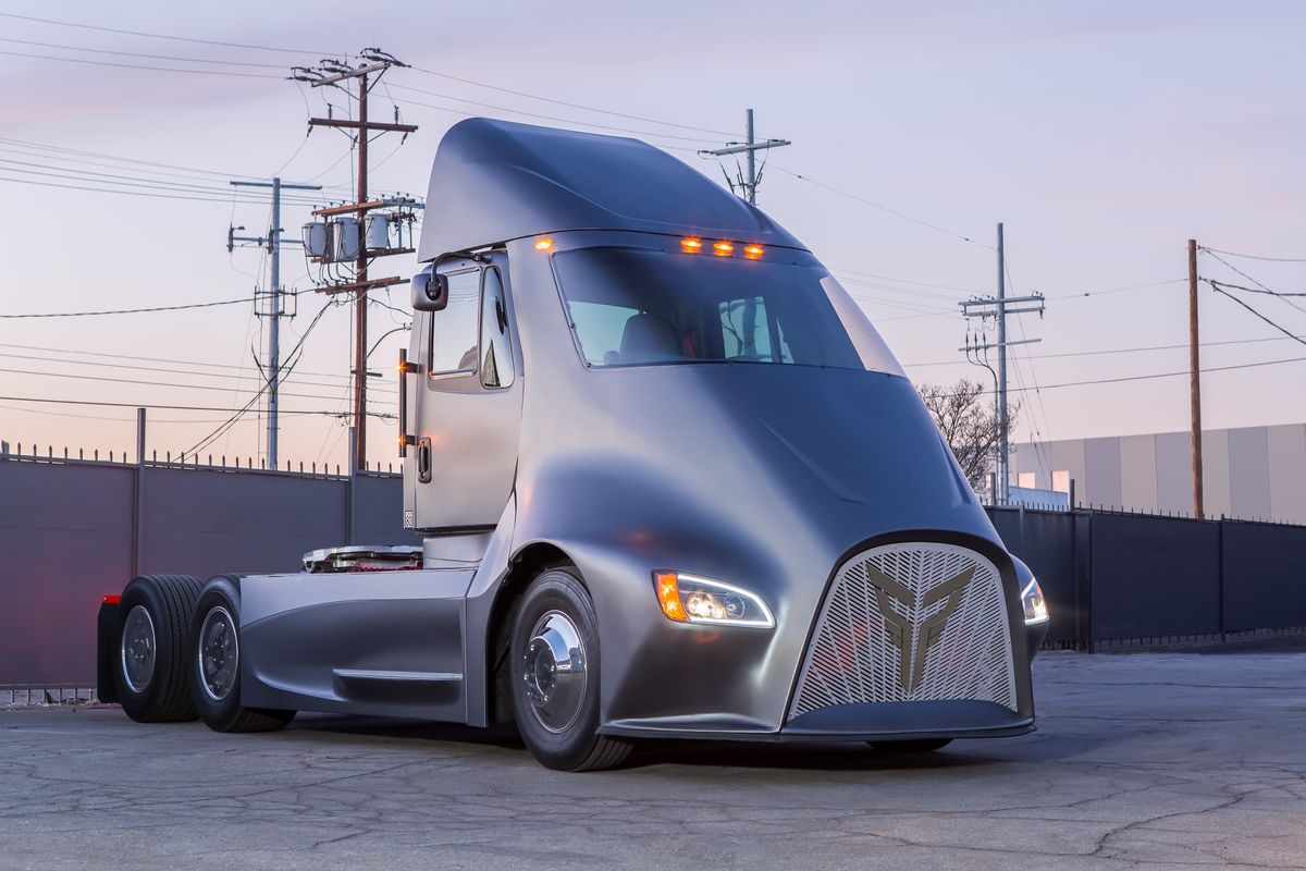 This electric truck startup thinks it can beat tesla to market the a new electric truck startup came out of stealth this week to announce its plan to bring its heavy duty electric vehicle to market before the tesla semi malvernweather Gallery