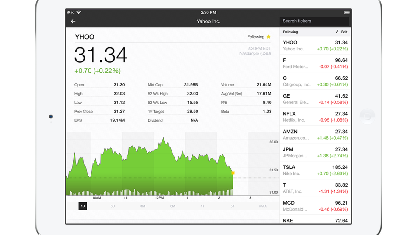 Yahoo Finance gets more personalized with redesign for web and iOS