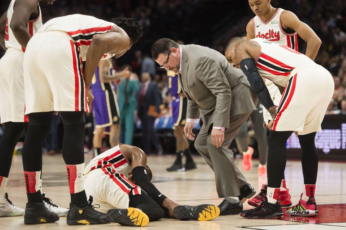 NBA: Los Angeles Lakers at Portland Trail Blazers
