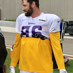 Brian Robison- last day of his last training camp.