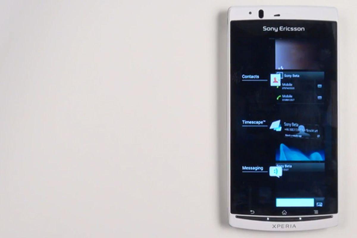 Sony Xperia Ice Cream Sandwich Beta ROM 640