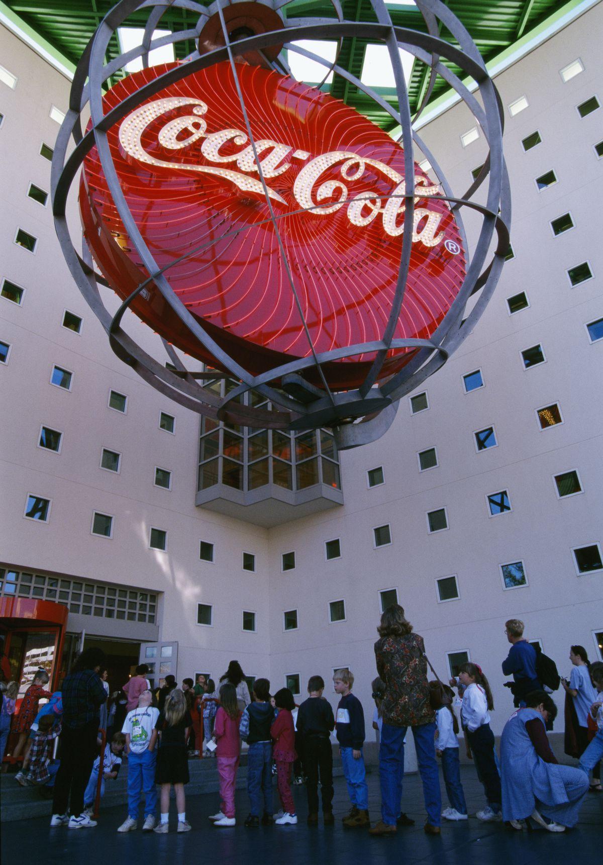 Neon Sculpture at Coca-Cola Museum in Atlanta