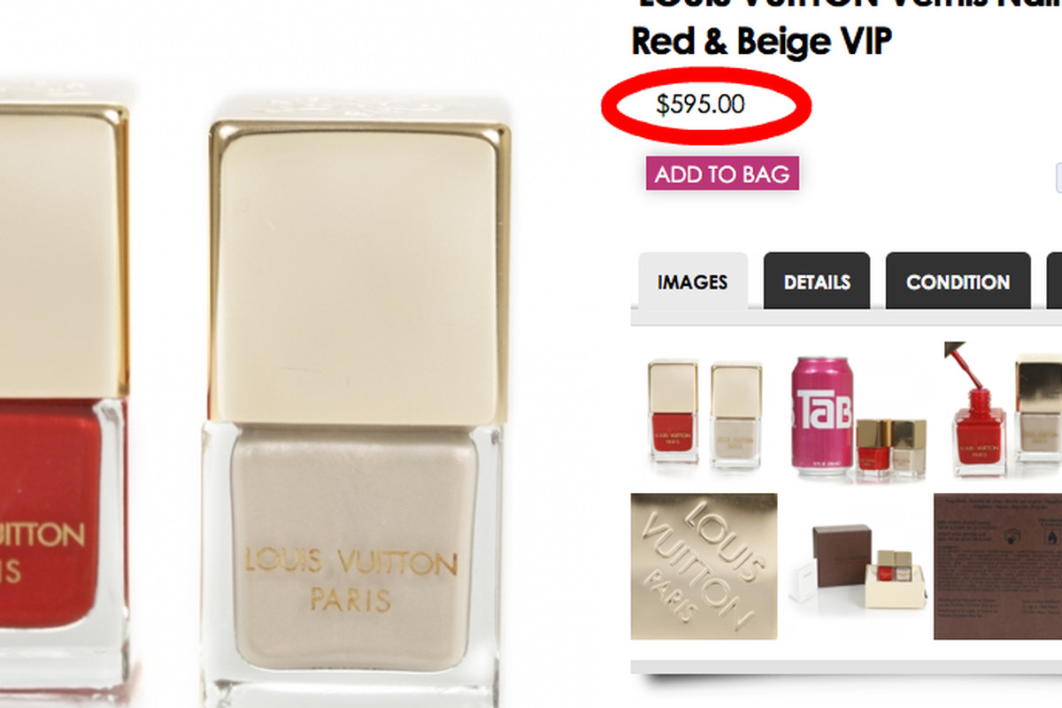 This Louis Vuitton Nail Polish Set Can Be Yours for $595 - Racked