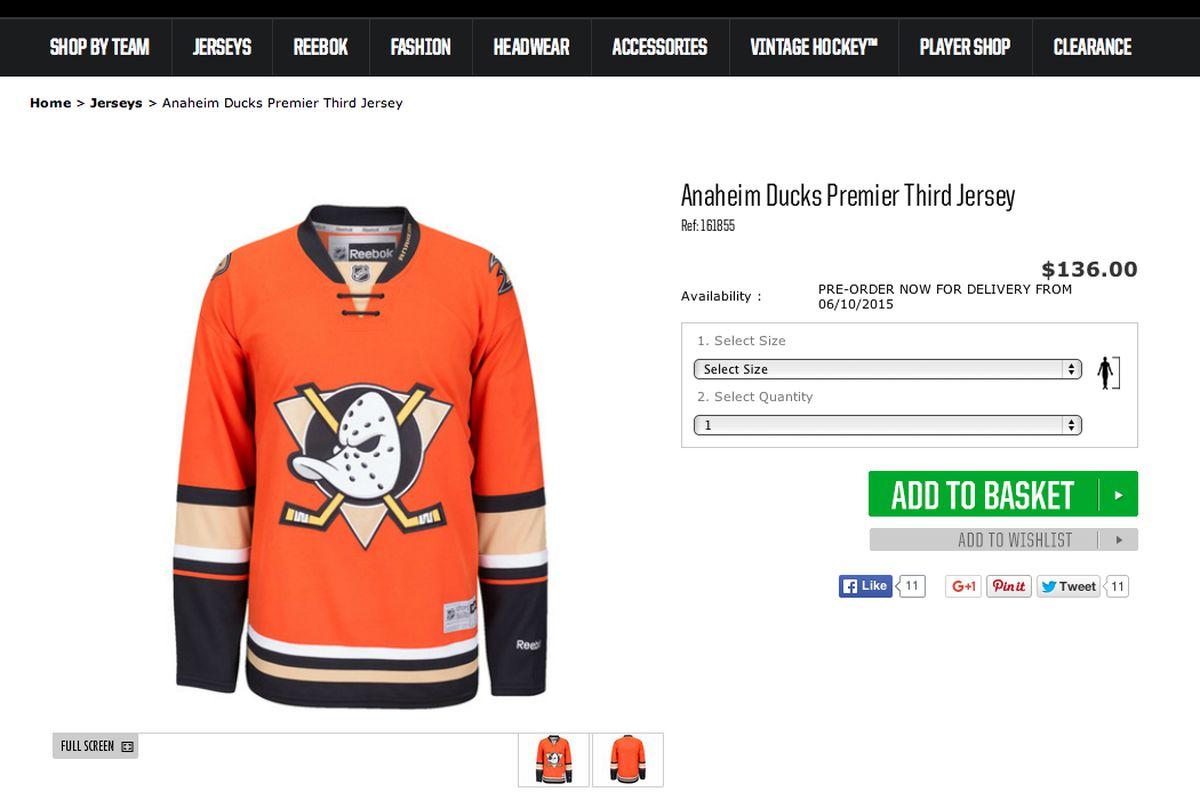 004e26e4f It s Official  Anaheim Ducks New 2015-16 Third Jersey Leaks ...