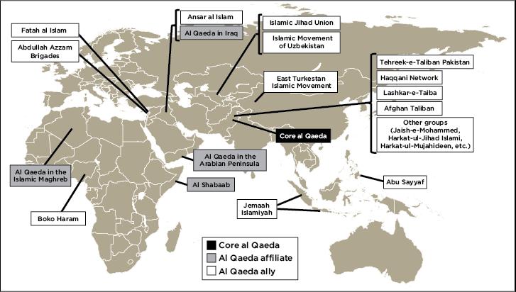 Al Qaeda Affiliates Rand 2012