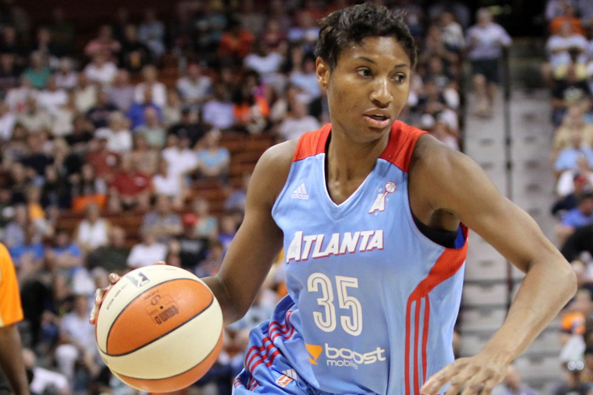 When Angel McCoughtry gets going, there's not much an opponent can do to stop her.
