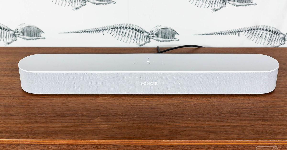 Sonos Beam is $50 off in time for the Super Bowl - The Verge image