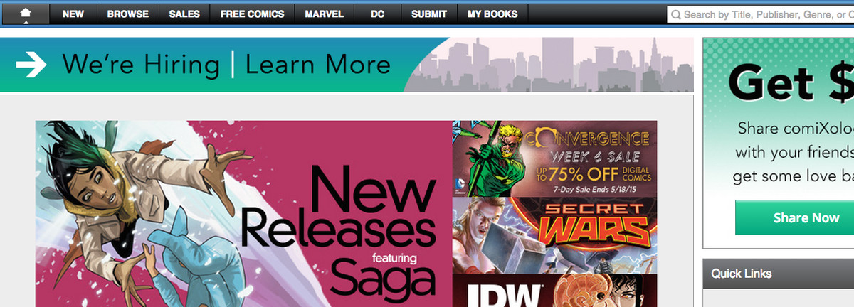 How to buy and read comics online | Polygon