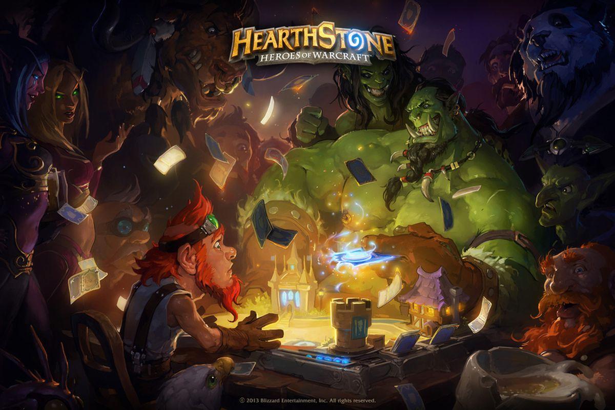 WarCraft Hearthstone stock press art