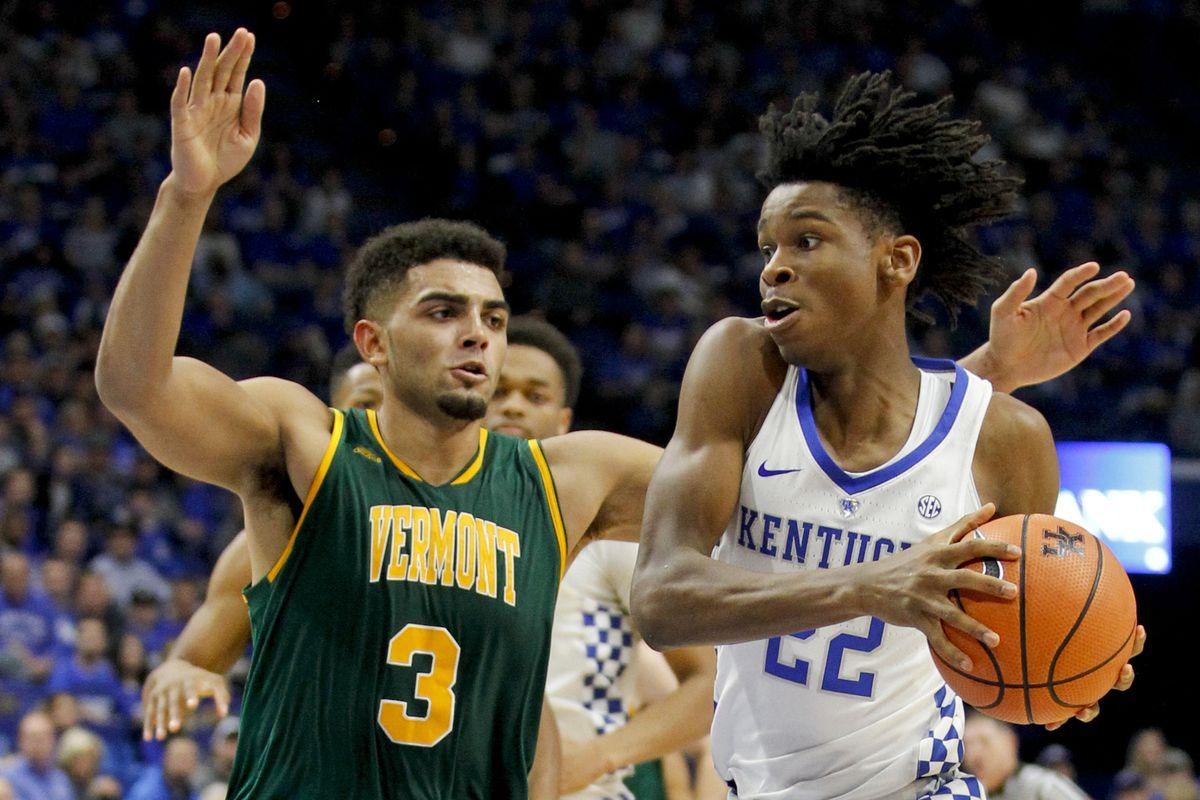 NCAA Basketball: Vermont at Kentucky