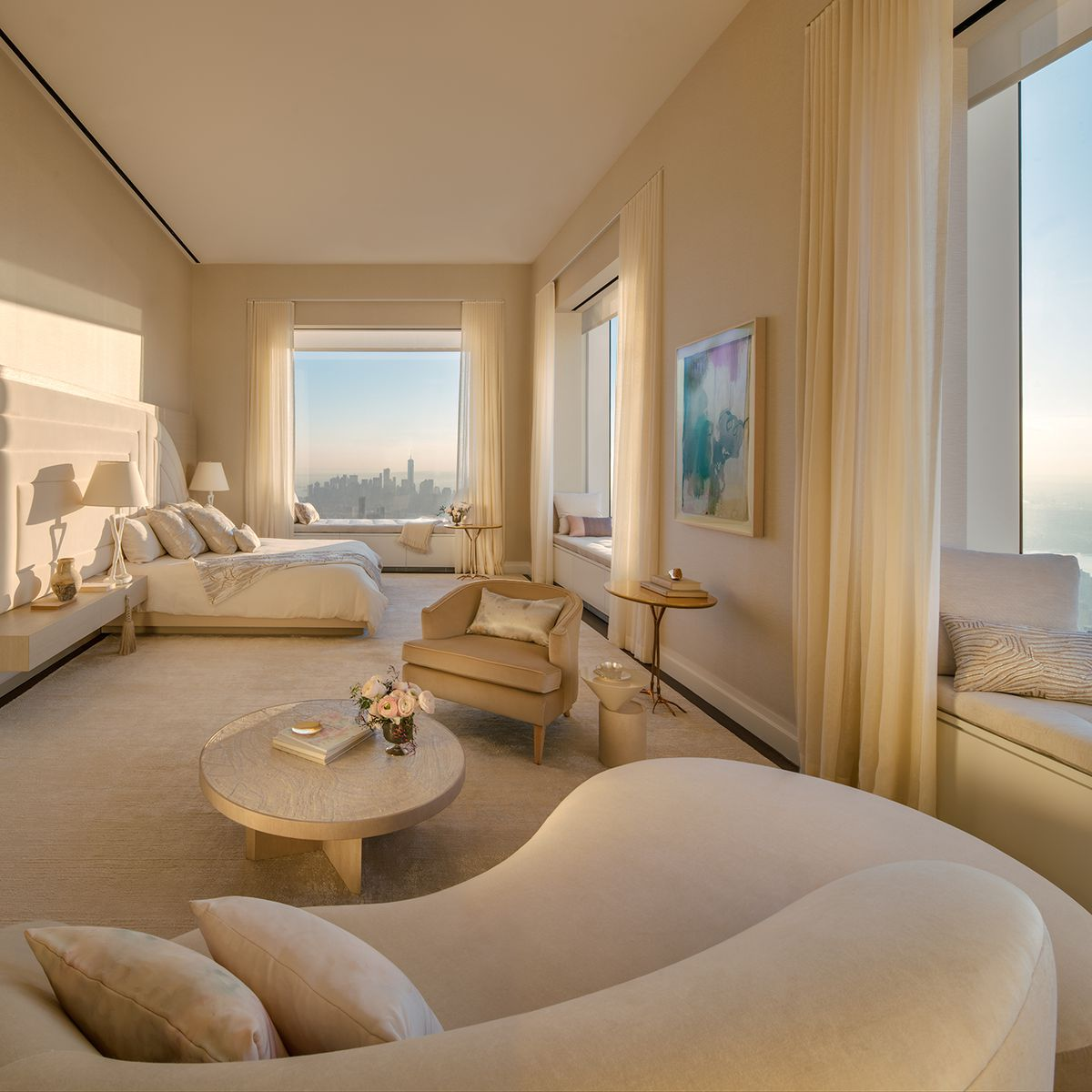 2 Bedroom Apartment In New York: Peek Inside 432 Park Avenue's $40M, 92nd-floor Penthouse