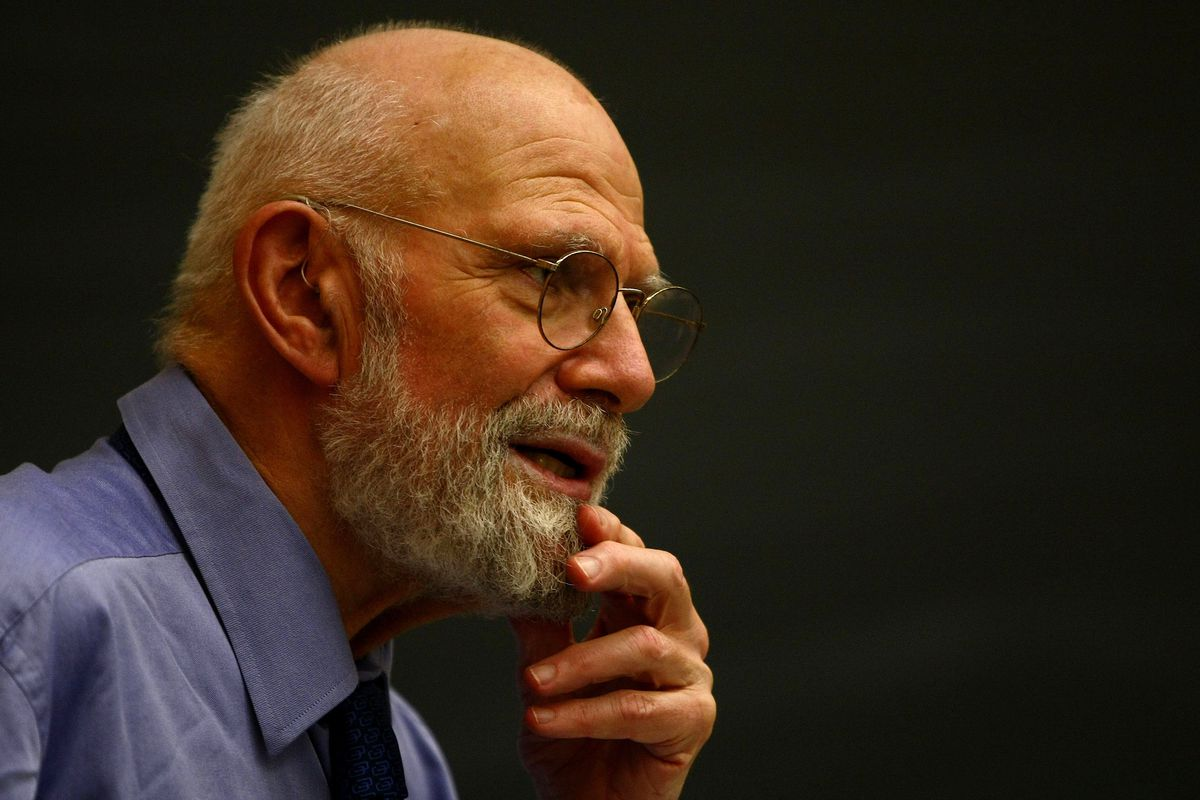 Neurologist and best-selling author Dr. Oliver Sacks. His new memoir, On The Move, grapples with the tension between being a media personality and a physician.