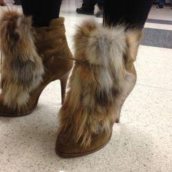Foxy booties