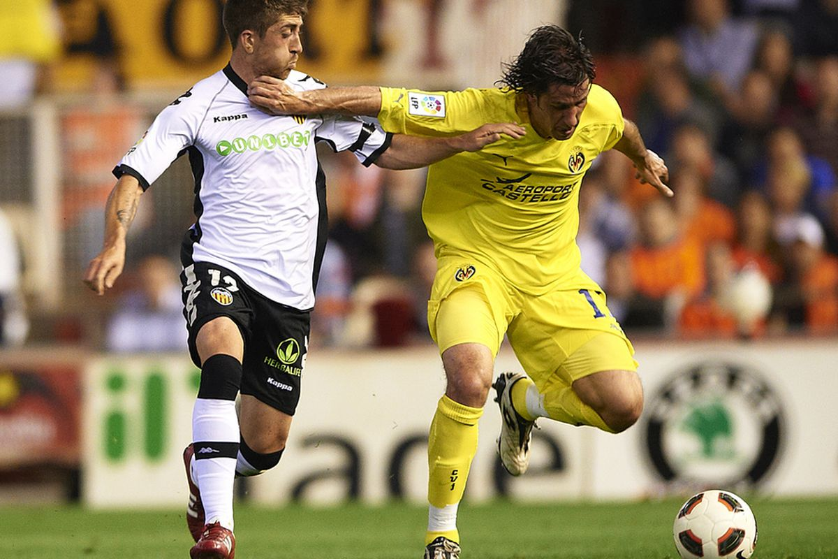 Capdevila's last match in yellow? We hope not.