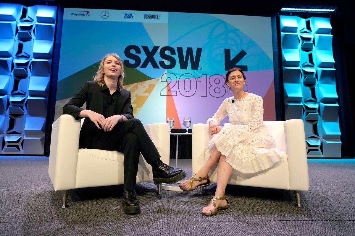 Chelsea Manning at SXSW