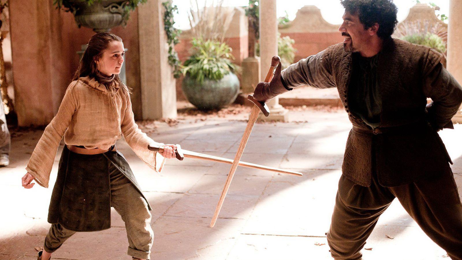 Syrio Forel es el primer mentor de Arya. Imagen: HBO.