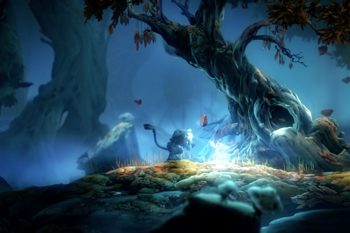 Ori and the Will of the Wisps Silent Woods map