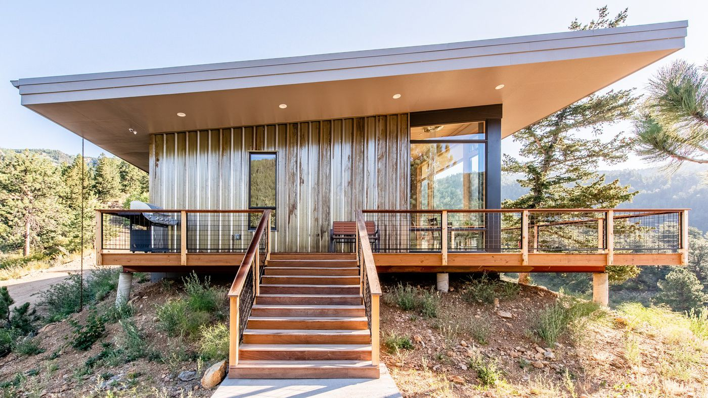 Modern House In The Mountains Offers Energy Efficiency And Enviable Views Curbed