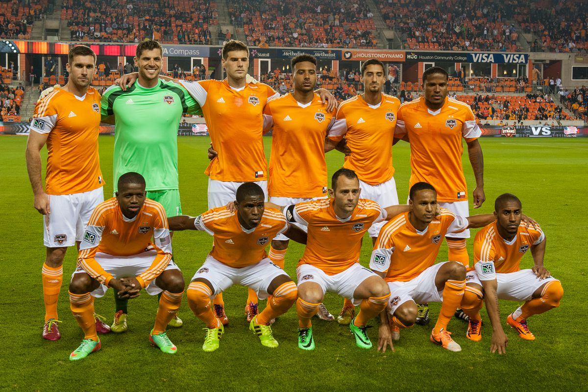 Team photo before the March 8, 2014 game against the New England Revolution.