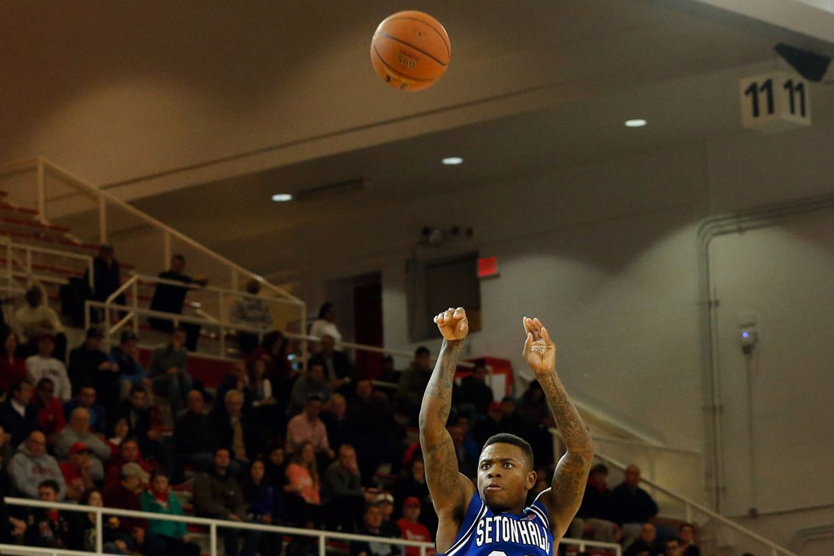 Seton Hall captain Fuquan Edwin set the tone with 22 first half points.