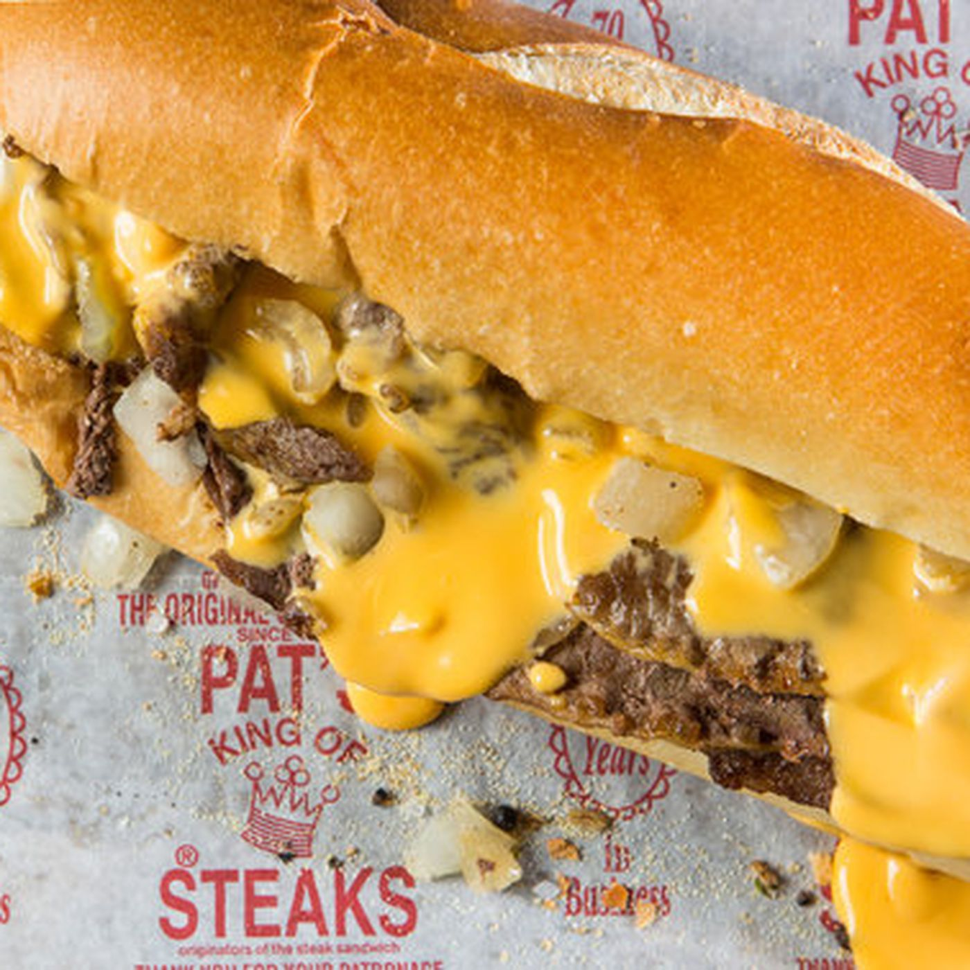 Pat's King of Steaks Now Delivers Cheesesteaks Nationwide - Eater ...