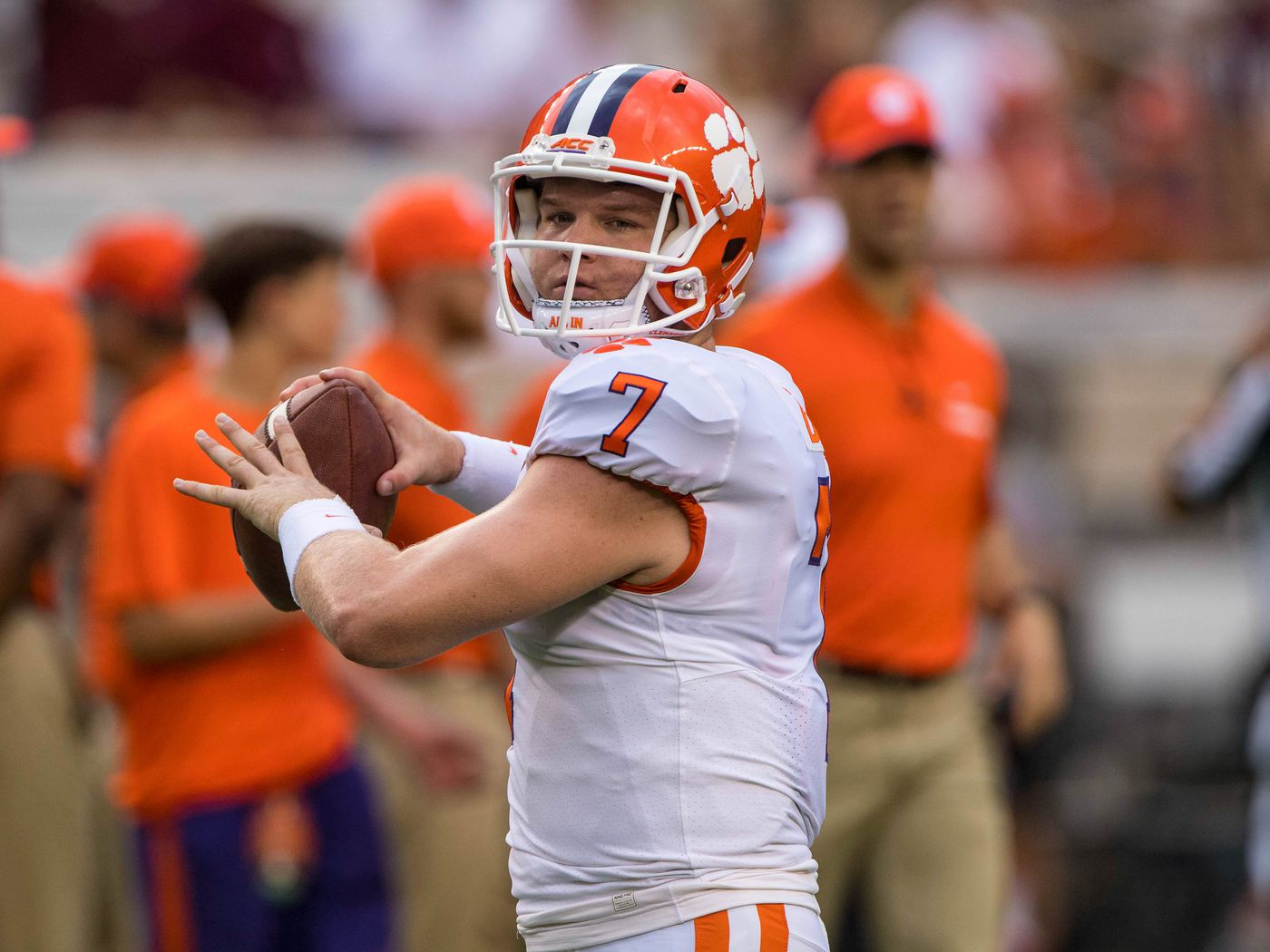 Meet Chase Brice, Clemson's next QB up after Trevor Lawrence ...