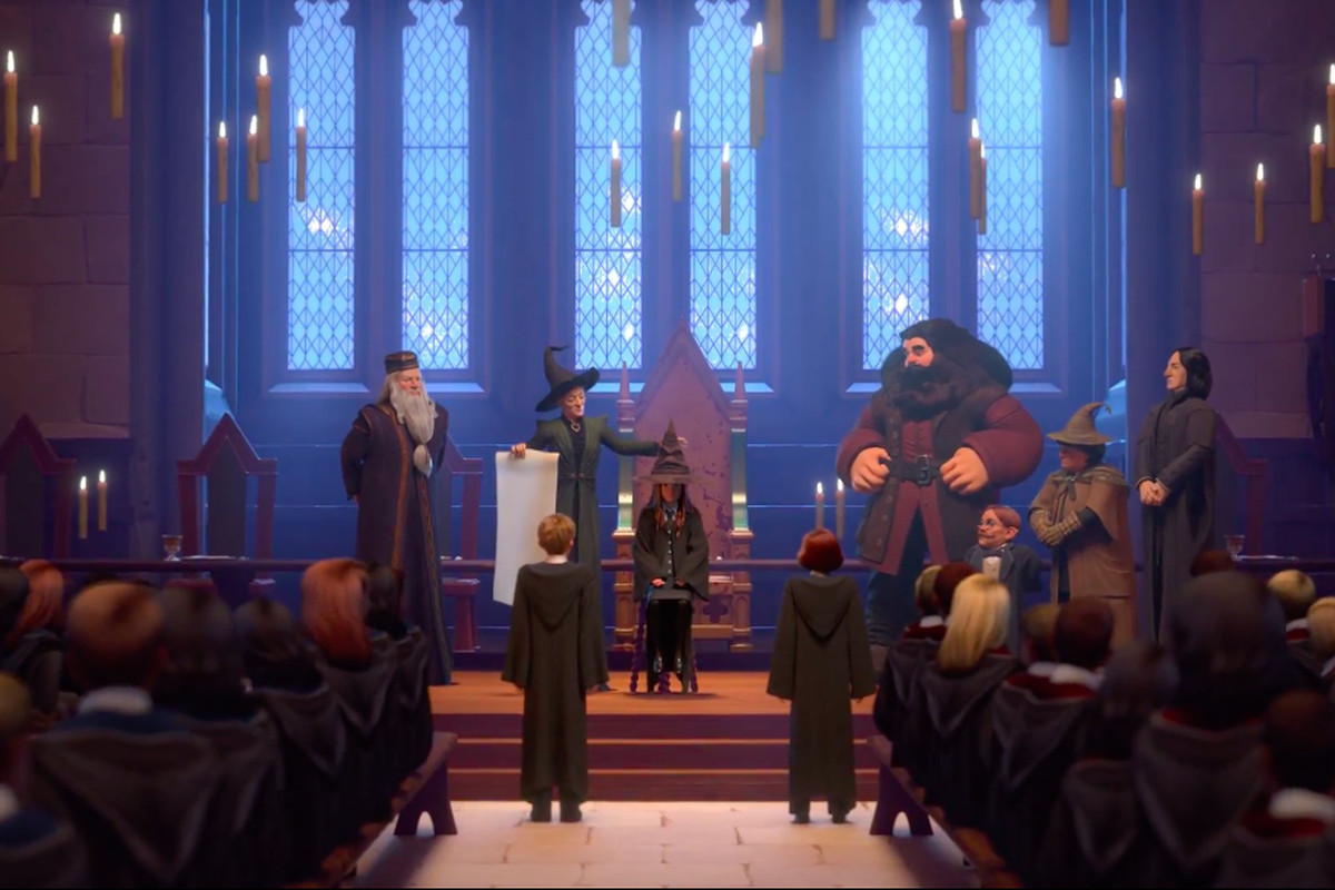 Year Five of Harry Potter: Hogwarts Mystery is out today