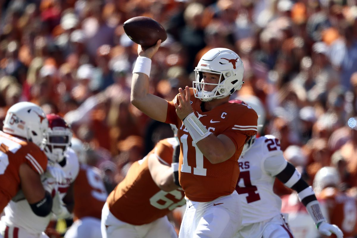 Texas falls four spots in latest AP Top 25